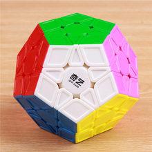 shengshou QIYI megaminxeds Magic Speed Cube 12 sides Cubo Magico professional Puzzle learning education toy for