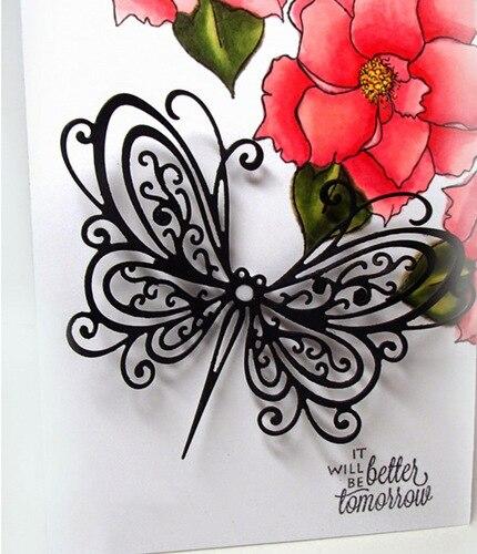 Stunning Butterfly Metal Cutting Dies For Scrapbooking New Dies For 2019 Die Cut Stitch Craft Die Stencil Troqueles