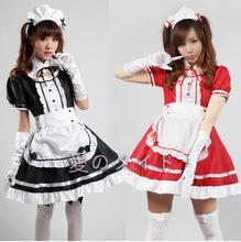 Nueva Llegada de Las Mujeres de Halloween Costume Plus Size Vestido Lolita Criada Disfraces Carnaval Anime Japonés Cosplay Barato