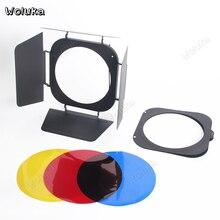Шторки цветной светильник фильтры Profoto ZOOM Reflector Стандартный крышка дополнительно четырехлистный перегородка комплект съемки реквизит NO00DG T10 X