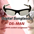 2016 New Arrival Digital Audio Video Camera DV DVR Sunglasses Sport Camcorder Recorder cam For Driving Outdoor
