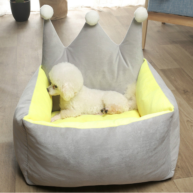 Dog Beds for Small DogsCartoon Supplies Pet Dog Accessories Dog HousePuppy Warm Pad Animal Pet Supplies