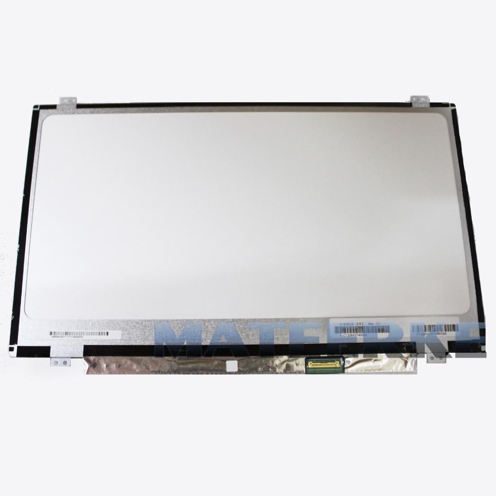 Laptop 14.0 Slim LCD LED Screen LP140WH2 TPS1 LTN140AT31 N140BGE-E33 N140BGE-E43 B140XTN03.3 LP140WHU (TP) (A1) HB140WX1-501 14 0 lcd laptop screen boe hb140wx1 601 hb140wx1 led panel for new 14 wxga hd display matte