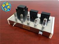 2018 New 6N2 Push 6P14 DIY Tube Amplifier Kit Dual 6Z4 Tube Rectifier HIFI Amplifier