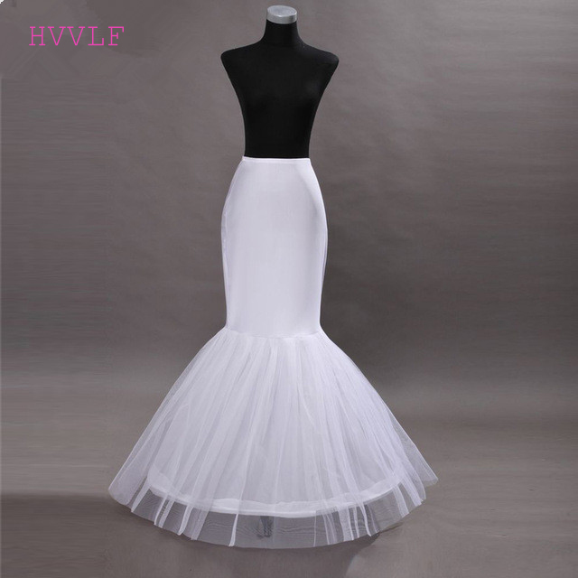 Hot Sale Cheap 2019 Mermaid Wedding Petticoat Bridal Accessories Underskirt Crinoline Petticoats For Wedding Dresses Jupon