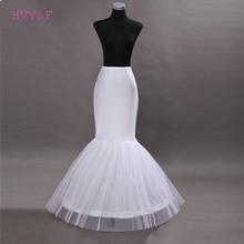 Hot Sale Cheap 2018 Mermaid Wedding Petticoat Bridal Accessories Underskirt Crinoline Petticoats for Wedding Dresses Jupon