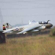 RC Jet Hobby Plane Freewing 80 мм A-6 A6 Intruder с створками и втягиваниями