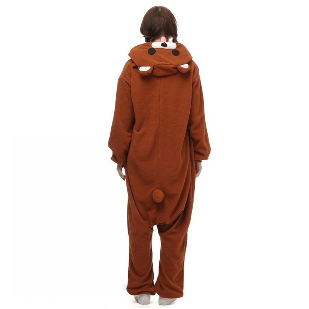 brown bear cosplay pajamas3