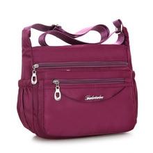 Herald Fashion Waterproof Nylon Women Messenger Bags Carteira Vintage Hobos Ladies Handbag Female Crossbody Shoulder