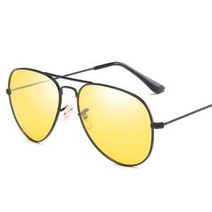 Image 5 - VCKA Photochromic משקפי שמש גברים נהיגה מקוטב משקפיים שמש זיקית טייס ראיית לילה משקפי משקפיים uv400 Eyewear