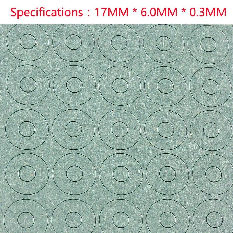 18650 junta de isolamento da bateria de lítio, oco cabeça chata, papel cevada highland, single link, 1 seção almofada de isolamento, méson