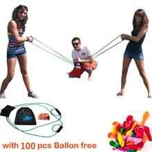 Catapulta globo de agua tirachinas/cañón/lanzador, lanzamisiles waterpolo, regalos para niños y niñas