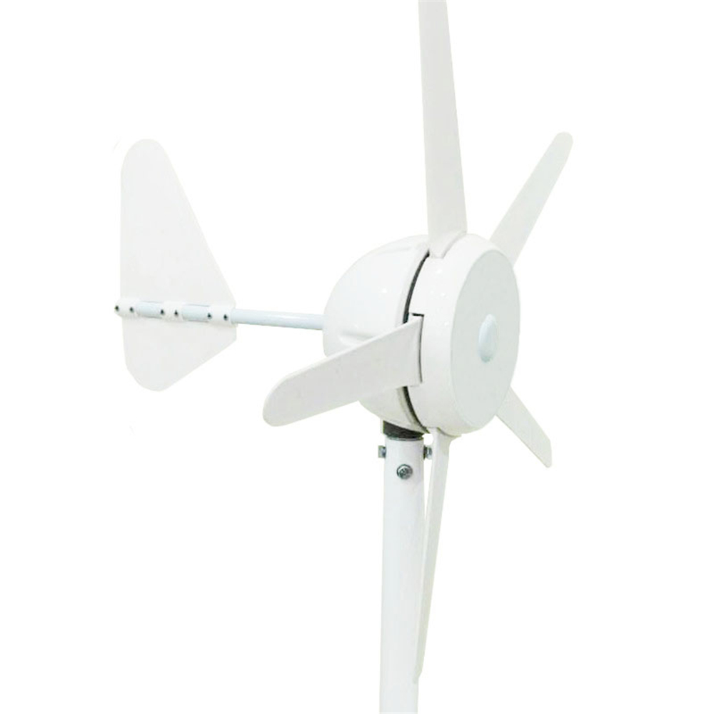 M-300 5 blades permanent magnet Power turbine kit wind generator 12V/24V with build-in controller or Lithium battery controller 200w 12v or 24v s series vertical axis wind turbine generator start up with 13m s 10 baldes permanent magnet generator