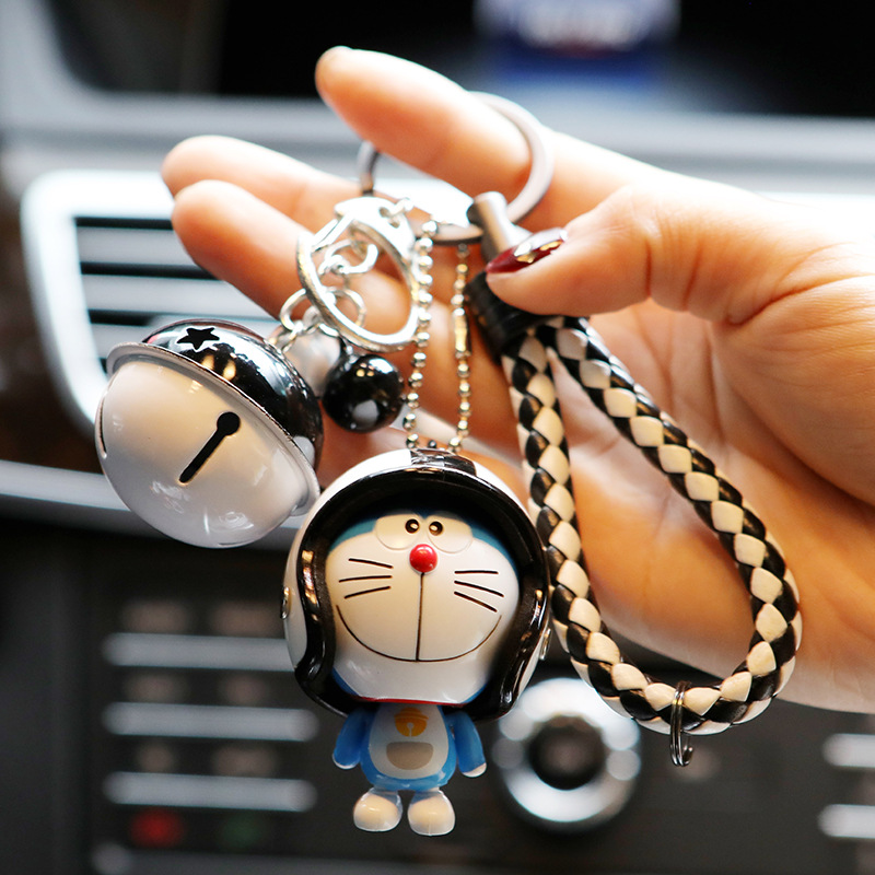 Image 3 - Marvel Avengers Captain America Key Holder Figure Marvel Doraemon Keychain Kids Toy Leather Rope Ring-in Key Rings from Automobiles & Motorcycles