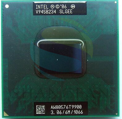 Free Shipping intel CPU laptop Core2 Duo T9900 SLGEE CPU 6M Cache/3.06GHz/1066/Dual-Core Socket 478Laptop processor forGM45 PM45