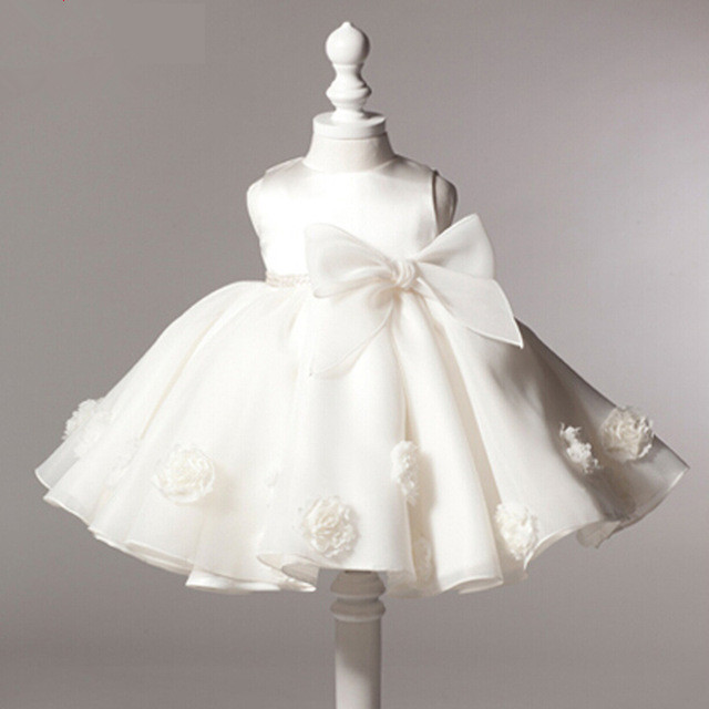 fd11e6187de US $23.91 48% OFF|New Arrival Little Girl Ball Gown Scoop Glitz Pageant  Flower Girls Dresses For Children Wedding First Holy Communion Gown-in  Dresses ...