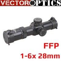 Вектор Оптика Апофис 1 6x28 FFP 35 мм тактический AR15 компактный прицел MP МОА сетка