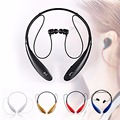 Bluetooth auricular inalámbrico de auriculares bluetooth estéreo deporte running sweatproof auriculares w/mic para el iphone samsung htc color