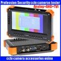 New 7 inch four in one tester CCTV tester monitor analog HD TVI3.0 AHD2.0 CVI2.0 1080P camera testing VGA HDMI input 12V2A