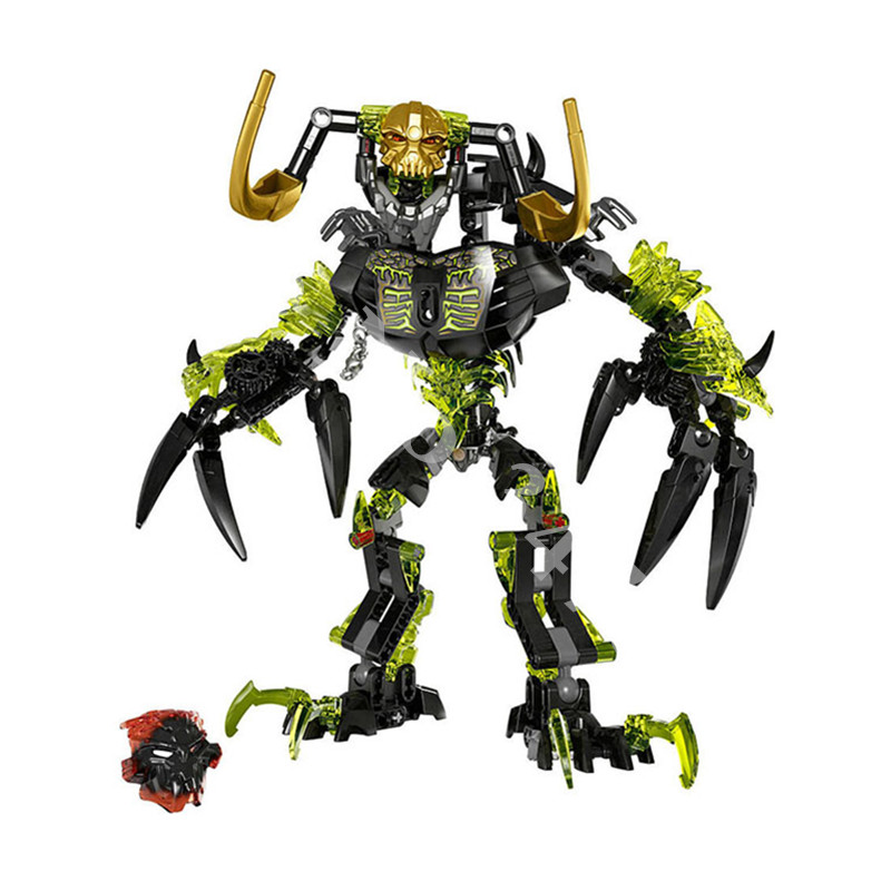 Bionicle Umarak Destroyer Biochemical Warrior Building Block Toys KSZ 614 Arrival Compatible With Sermoido Bionicle 71316 in Blocks from Toys Hobbies