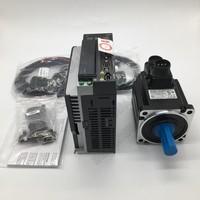 Delta A2 Servo 1KW ASD A2 1021 L ECMA C11010SS AC Motor Drive Kits with Brake 220V 1PH/3PH 100MM 3000 5000rpm 3.18NM 7.3A 22mm