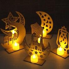 חד קרן ירח LED לילה אור קריקטורה שינה דקור לילה מנורת תינוק ילדים יום הולדת חג המולד מתנת הרמדאן ירח לילה מנורה