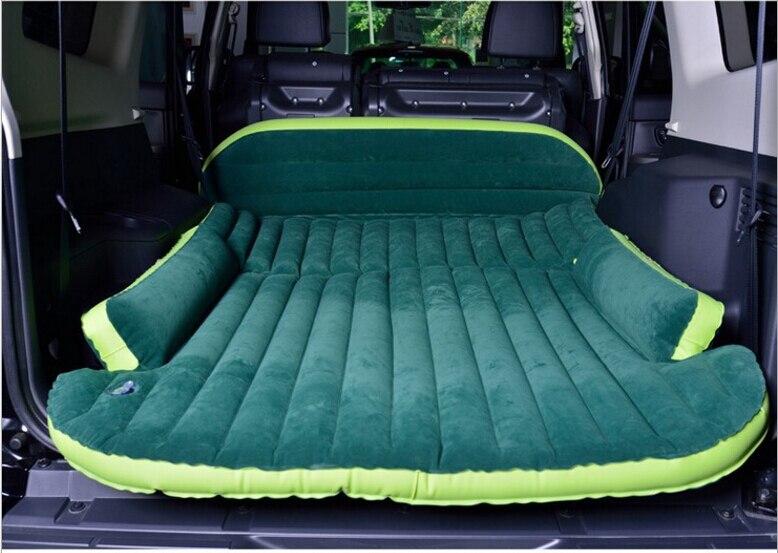 Tapis de Camping floqué de voiture de SUV de matelas d'air extérieur portatif de lit gonflable de voyage d'auto-conduite