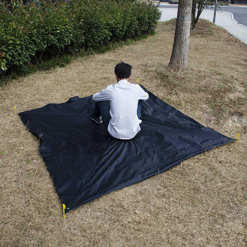 Rede lona mosca da chuva 11*10 pés à prova d' água acampamento ao ar livre tenda sol abrigo para camping hammock ao ar livre mobiliário Acehmks