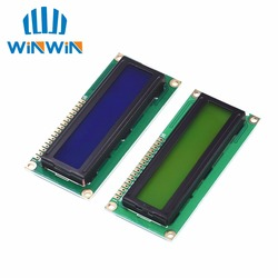 1pcs/lot 1602 16x2 Character LCD Display Module HD44780 Controller  Blue/Green screen blacklight LCD1602 LCD monitor 1602 5V