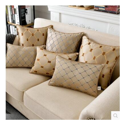 2017 New Luxury Decorative Throw Pillowcases Square Pillow Cushion Cover Home Decorative Coussin Home Textile Cojines Almofadas