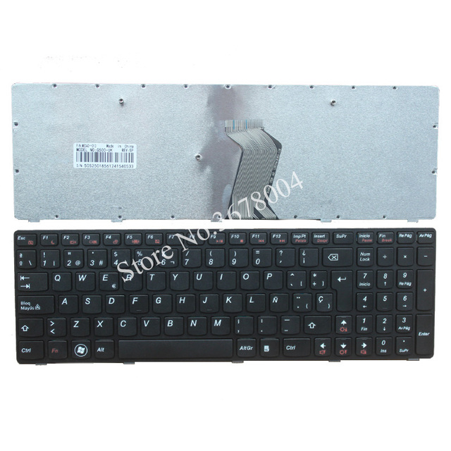 Novo Teclado Do Laptop Espanhol para Lenovo G500 G505 G500A G505A G510 G700 G700A G710 G710A G500AM G700AT SP Teclado Do Laptop