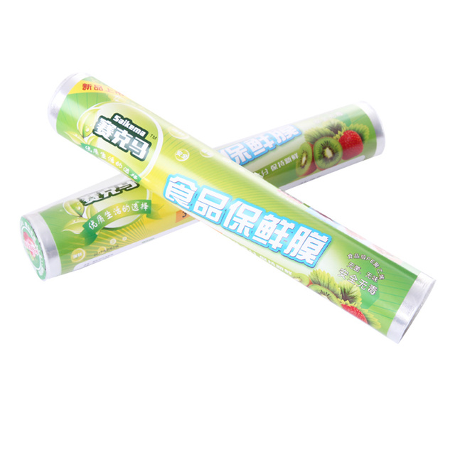 Saran Wrap Disposable plastic wrap household kitchen food refrigerator refrigerated fruits and vegetables food cling film