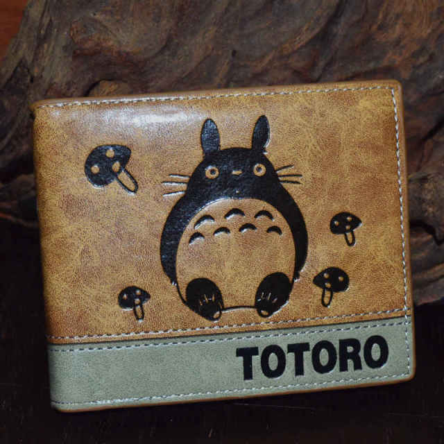 Naruto One Piece Pokemon Wallet Purse