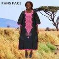 Базен Riche Африканские Платья Для Женщин Вышивка Скороговоркой женская Платье С Бисером 100% Хлопок Традиционная Одежда Dashiki