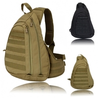 2015 New Fashion Large Sling Single Shoulder Bag Backpack Gear Pack Tactical One Strap Heavy Duty