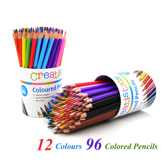 aliexpress com buy 12 24 colored pencil highlighter fluorescent