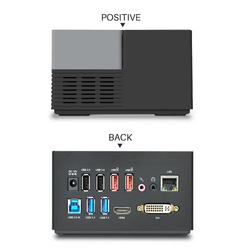 Wavlink 9 puertos Universal USB 3,0 estación de acoplamiento pantalla de vídeo Dual 4 GB DVI HDMI VGA a 1152*2048 Hub USB carga rápida Gigabit - 4