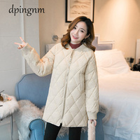 Plus Size womens Winter Jackets Stand Collar Cotton Padded Female Coat Winter Women Long Parka Warm Thicken