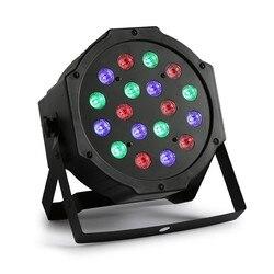 18 W DMX 512 RGB 18 LED światła disco dla DJ oświetlenie na imprezę aktywowane dźwiękiem lampa projekcyjna na tle ślubne KTV pokaż klub Bar Xmas|disco light|party lightsdj disco light -