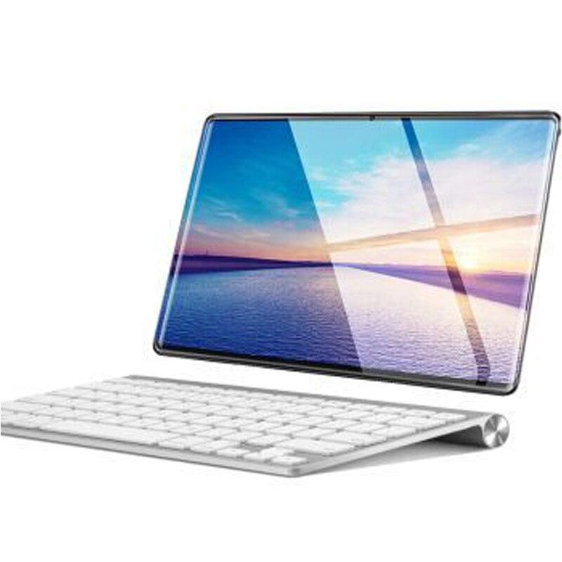 4G LTE tablette écran mutlti tactile Android 9.0 Octa Core Ram 6 GB ROM 64 GB caméra 8MP Wifi 10 pouces enfants tablette avec clavier