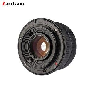Image 3 - 7artisans 25mm f1.8 ana Lens tüm tek serisi için montaj Canon EOS M montaj/mikro 4/3 kamera A7 A7II A7R A7RII X A1