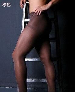Image 5 - Lingerie Sexy pour hommes, haute qualité, 80 Deniers, forme de collants épais (SW0858)