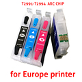 T2991 4 colors Refillable Ink Cartridge For Epson XP-235/432/245/247/332/335/342/345/432/435/442/445 With ARC Chip free shipping