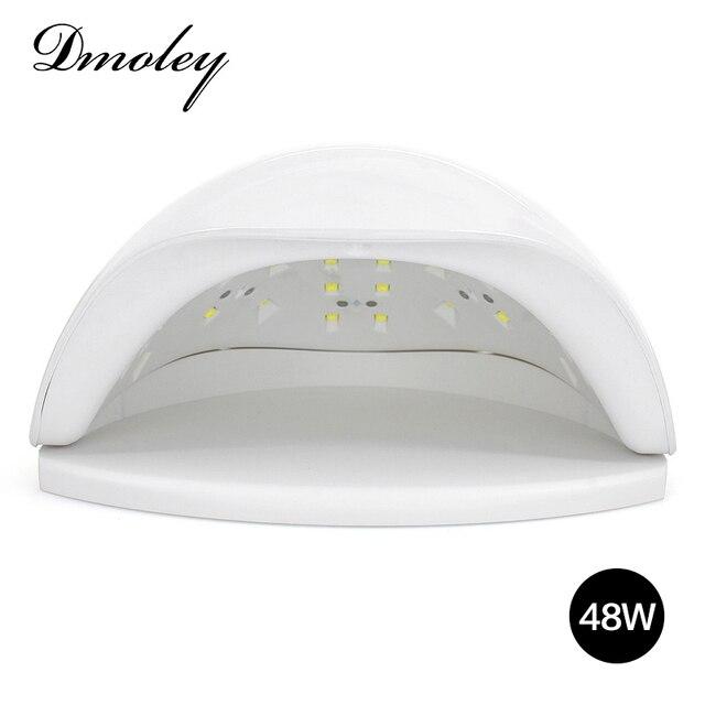 Dmoley 48W SUN5X UV LED Lamp Smart UV Lamp Auto Sensor Manicure Nail ...