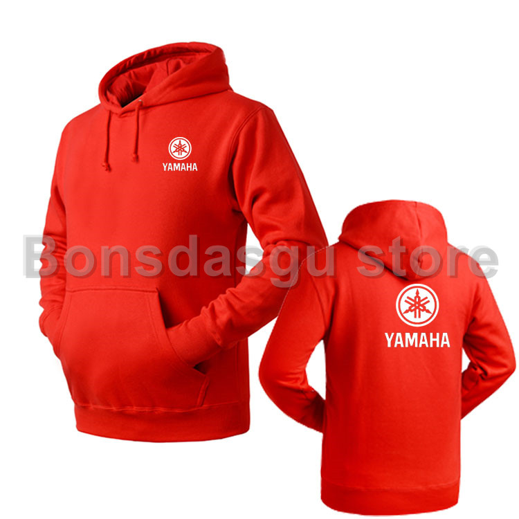 99e55acb2 YAMAHA logotipo moletom Com Capuz da camisola das mulheres e homens ...
