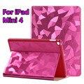 "Case for iPad Mini 4 Luxury New Fashion Flip Stand Cover for iPad Mini 4 Slim Back Protective Shell Case 7.9"" for iPad Mini 4"
