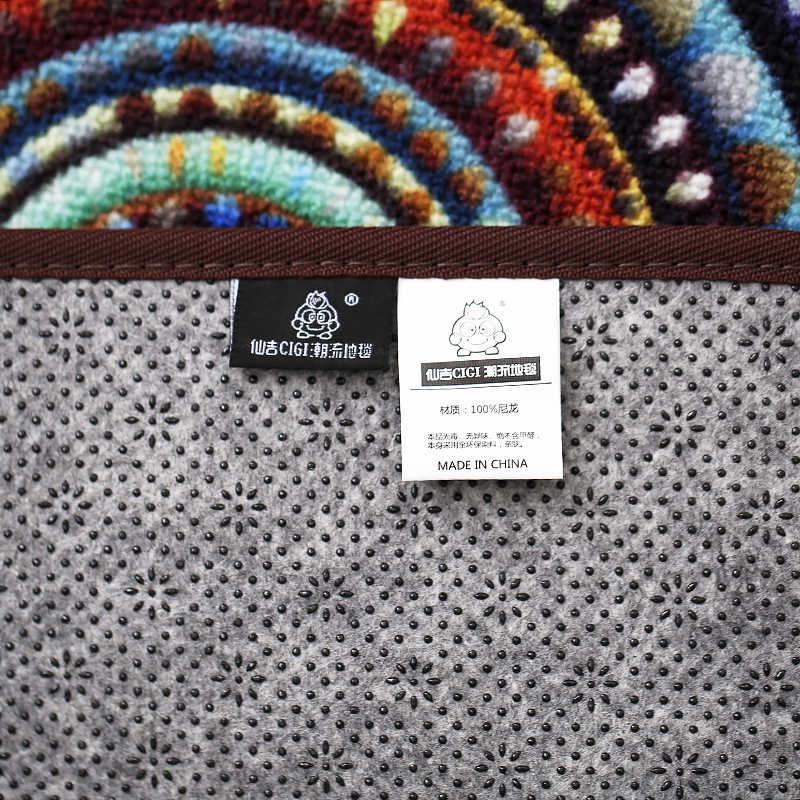 CIGI Современная китайская народная Стиль модные длинные коврик Спальня коврик для кухни, ванной окна Противоскользящий пол коврик для ног мебель