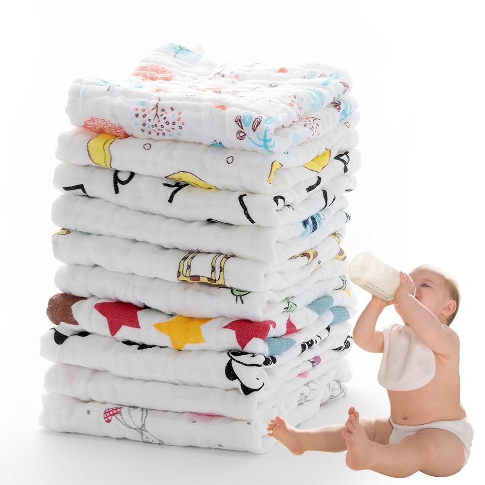 2019 Hot Sale New Baby Bath Towels Cotton Gauze Flower Print New ...