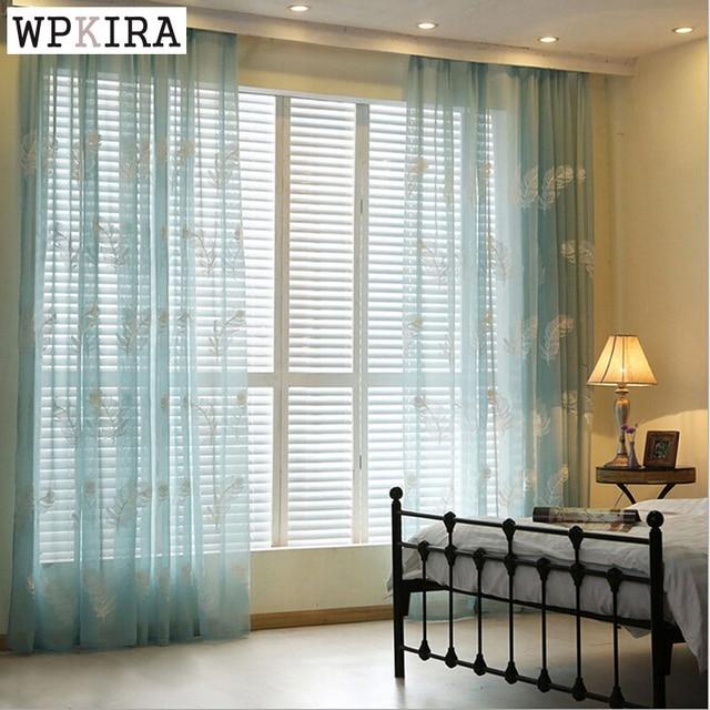 Aliexpress Luxus Vorhang Garn Fr Wohnzimmer Fenster Gaze