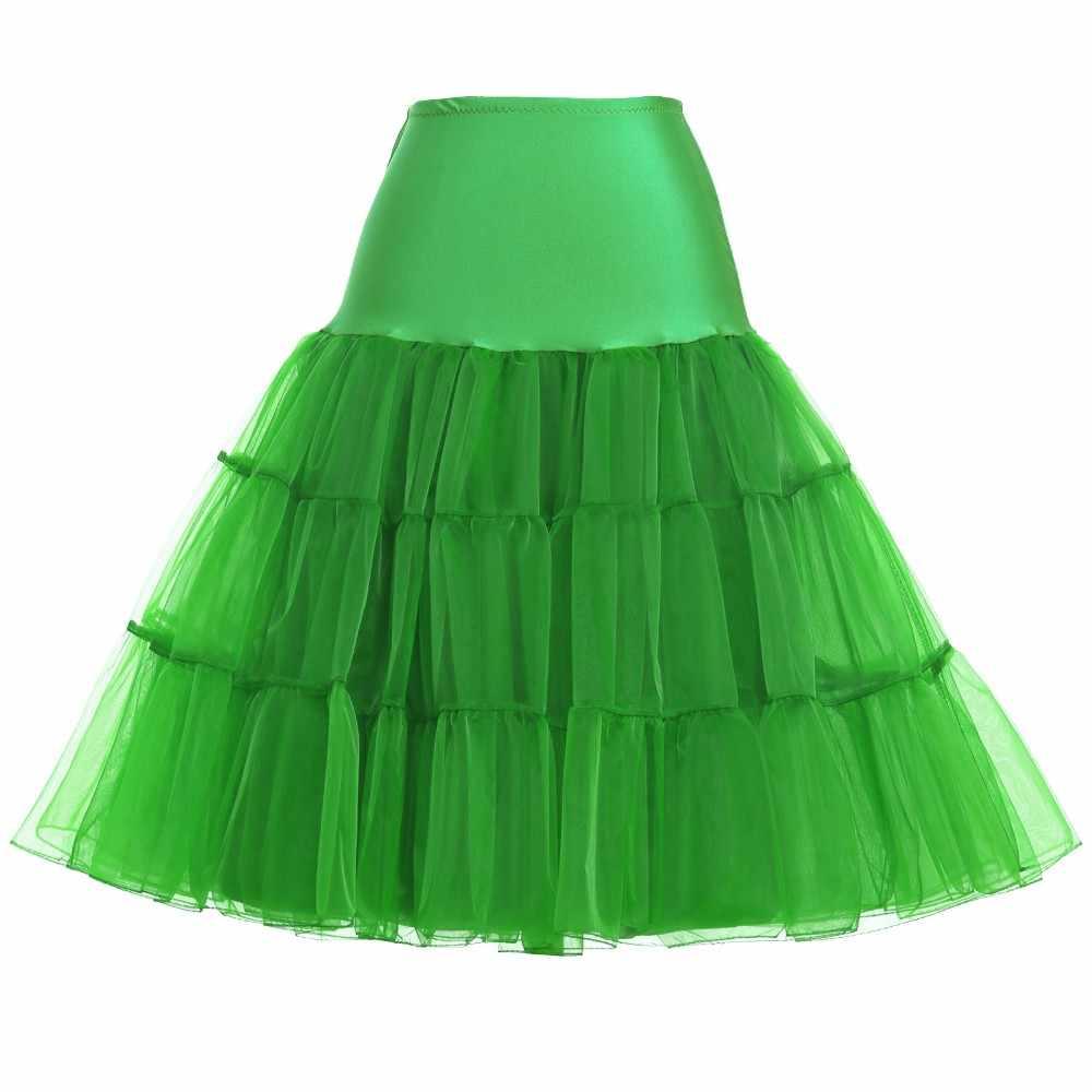 In voorraad 60 cm Petticoats voor Trouwjurk Crastal Garen Taille Elastische Korte Wedding Petticoat Bridal Onderrok Vrouwen Crinoline